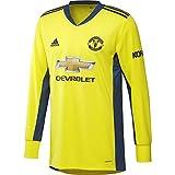 adidas Manchester United Temporada 2020/21 MUFC A GK JSY Camiseta Portero Segunda equipación, Unisex, Azul, M