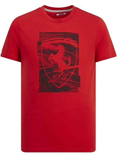 Branded Sports Merchandising B.V. Scuderia Ferrari T-shirt pour homme Rouge, Rouge, Small