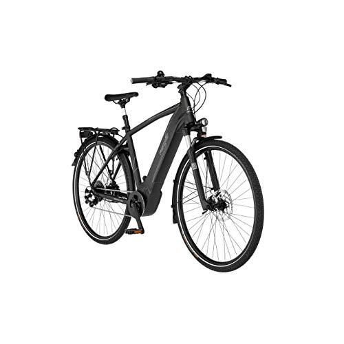 FISCHER Viator 6.0i - Bicicleta eléctrica de trekking para hombre, grafito metálico...