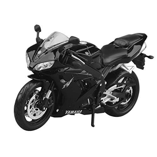 Gflyme Motocicleta del Juguete Modelo Yamaha YZF-R1 Camino Superficial Locomotora Simulación de aleación Modelo de la Motocicleta Regalo Colección