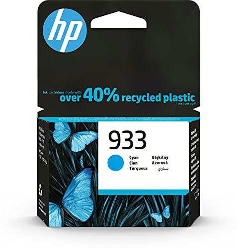 HP 933 CN058AE CIANO CARTUCCIA ORIGINALE 330 PAGINE PER HP OfficeJet 6100 7610 7612 HP OfficeJet 6600 6700 7110 7510