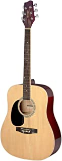 Stagg 6 String Acoustic Guitar, Left (SA20D 3/4 LH-N)