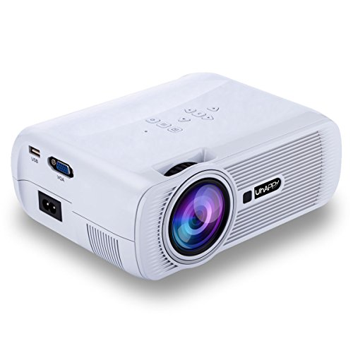 UHAPPY U80 Mini LED HD projector Portable projector (EN) - White