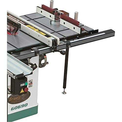 small Grizzly Industrial T10222 – 20 x 27 inch milling table expansion for table saws