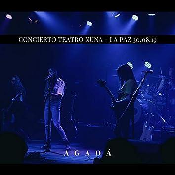 Agadá (Live at Teatro Nuna)