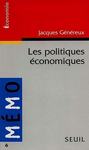 Mémento des politiques économiques