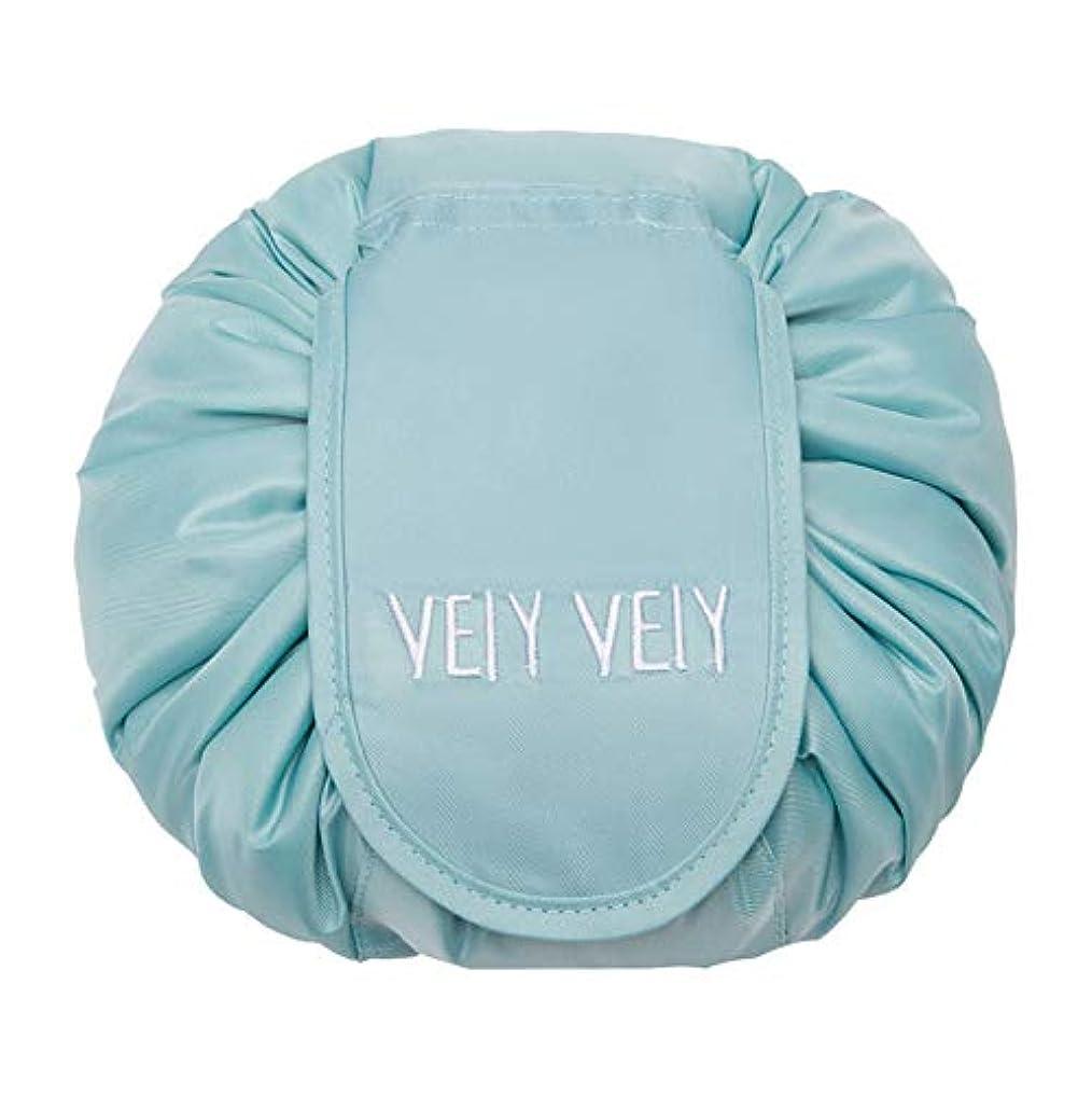 生じる取り付け出会いHaoZhiltd 化粧ポーチ マジックポーチ 化粧バッグ メイクポーチ 携帯用ポーチ 旅行用ポーチ 巾着型 折畳式 風呂敷 大容量