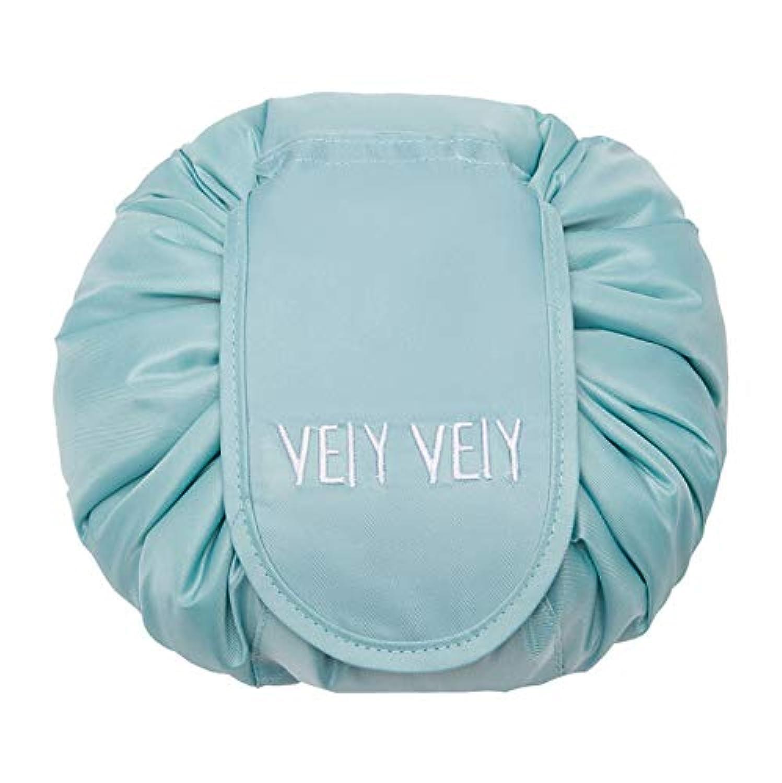HaoZhiltd 化粧ポーチ マジックポーチ 化粧バッグ メイクポーチ 携帯用ポーチ 旅行用ポーチ 巾着型 折畳式 風呂敷 大容量