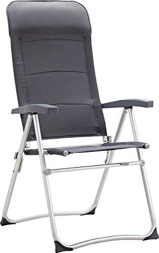 Westfield Be-Smart Zenith Charcol Chaise de Camping Gris