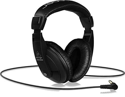 Behringer Studio Headphones, Black, Over-Ear (HPM1000-BK)
