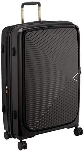 [シフレ] スーツケース ハードジッパー GREEN WORKS(グリーンワークス) 軽量 拡張機能付 GRE2197-70 80L 70 cm 4.2kg ブラック