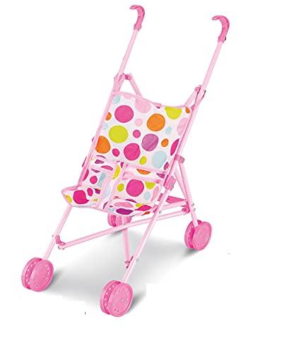 Ram® My First Dolls Pushchair Pram Buggy Girls Pretend Play Stroller Baby Doll Stroller