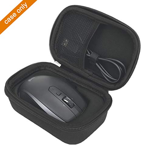 Hard Carrying Travel Case Bag Compatible with Logitech MX Anywhere 1 2 Gen 2S Wireless Mobile Mouse by Aproca