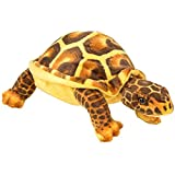 Wildlife Tree 10.5 Inch Small Brown Tortoise Stuffed Animal Plush Floppy Zoo Reptile & Amphibian Collection