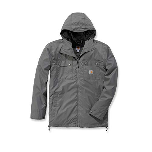 Carhartt Rockford Jacket Chaqueta, Steel, S para Hombre
