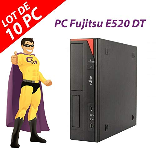 Fujitsu Esprimo E520 DT Intel G3220 RAM 4 GB Festplatte 250 GB Windows 10 (wiederaufbereitet) 10 Stück
