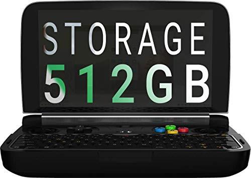 GPD Win 2 [2019 HW Update] - Ordinateur Portable avec écran Tactile; Processeur Intel, 8 Go de RAM, SSD 512Mo M.2, Wi-FI [WIN2-512Go]