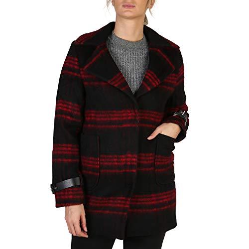 Guess Cappotto da Donna in Lana Colore: Rosso XS