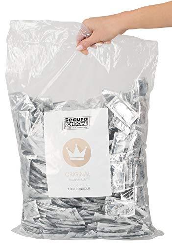 Orion 415308 Secura Kondome transparent 1000er