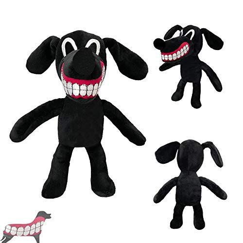 Cartoon Dog Plush Toy,Anime Siren Head Plush Toy,12 inch Teeth Showing Dog Anime Plush Toys for Kids