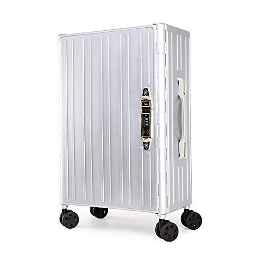 Stoge Custodia Pieghevole per Trolley, Quattro Colori, Comoda Custodia (Color : White)