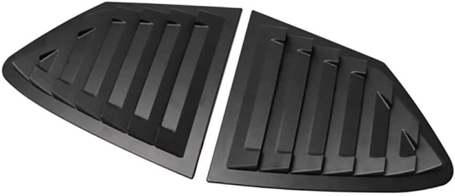MPOQZI Car Side Vent cheap Window Louver F Covers Special price for a limited time Fit for Shutter Trim