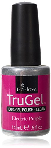 Ezflow Trugel Vernis à Ongles Electric Purple