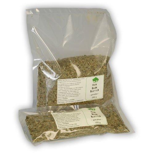 Niemblätter (Neemblätter), 250 g Feinschnitt