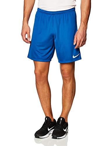 Nike Gardien III League, Pantaloncini da Calcio Uomo, Team Royal/Bianco/Bianco, L