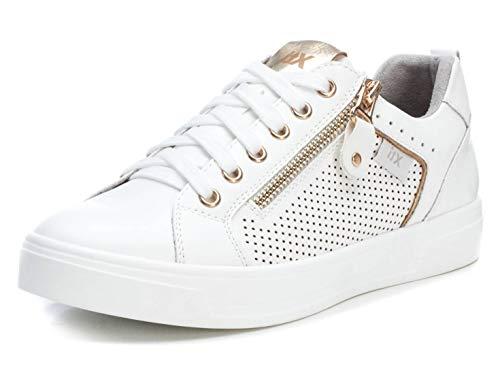 XTI Zapatilla Autoclave XTI049787 para Mujer Blanco 37