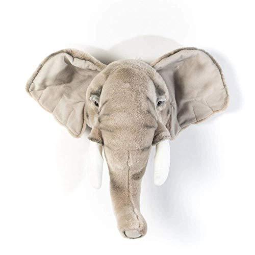 BiBiB TROFEO–Druckkopf Elefant Plüsch