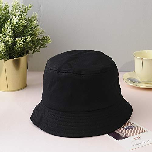 Unisex Sombrero de Cubo Letra Mujeres Hombres Pesca Sombrero de Pescador Verano al Aire Libre Gorra de Hip Hop-20-One Size