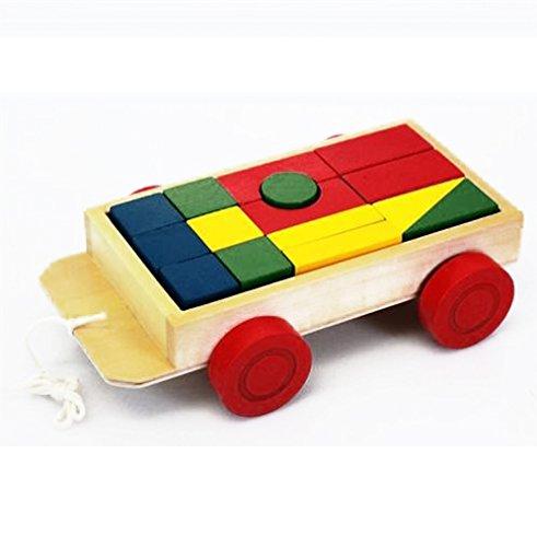 Eichhorn Holzspielzeug vers. Arten (Bauwagen / Anhänger)