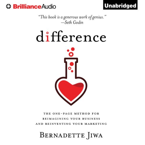Difference audiobook cover art