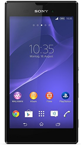 Sony Xperia Style Smartphone (13,5 cm (5,3 Zoll) HD-TRILUMINOS-Bildschirm, 1,4-GHz-Quad-Core-Prozessor, 8 Megapixel-Kamera, Android 4.4) schwarz - [T-Mobile Version]