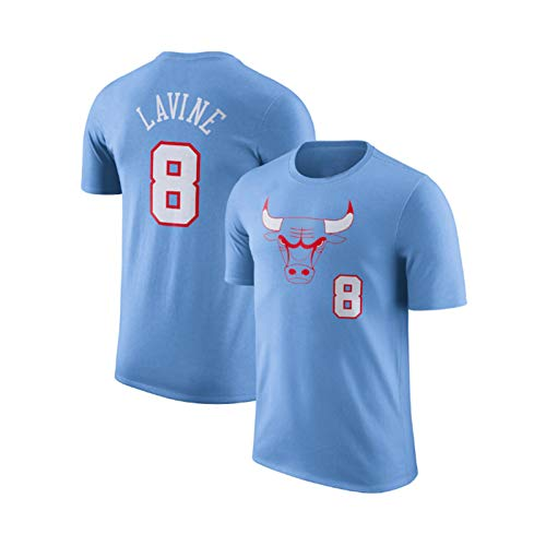 LeBron Lavine Dri-fit Swingman Uniforme de baloncesto Bulls #8, unisex sin mangas, chaleco para interiores y exteriores, ejercicio y uso casual