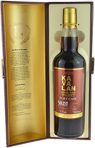 Rarität: KaVaLan Solist Port Cask Whisky 0,7l Cask Strength 59,4% vol.