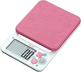 タニタ クッキングスケール はかり 料理 デジタル 2kg 0.1g単位 ピンク KD-192 PK