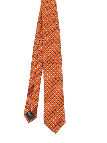 Z ZEGNA Luxury Fashion Herren Z8W041L7B Orange Seide Krawatte | Herbst Winter 20