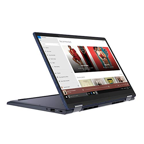 Lenovo Yoga 6 13ARE05 13.3' Full HD Touchscreen Convertible Laptop AMD Ryzen 7 4700U 8GB RAM 256GB SSD FP Backlit Keyboard Windows 10 Home Abyss Blue - 82FN0017UK