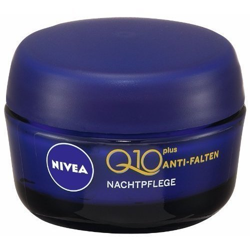 Nivea Anti Wrinkle Q10 Plus Night Cream 50 Ml 1.7 Oz [Health and Beauty]