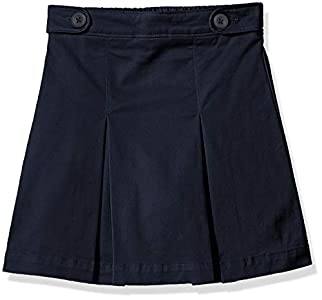 Amazon Essentials - Falda pantalón de uniforme para niña, Azul marino, US XL (EU 146 -152 CM, S)