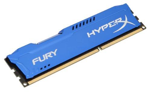 Kingston HyperX FURY 8GB 1600MHz DDR3 CL10 DIMM - Azul (HX316C10F/8)