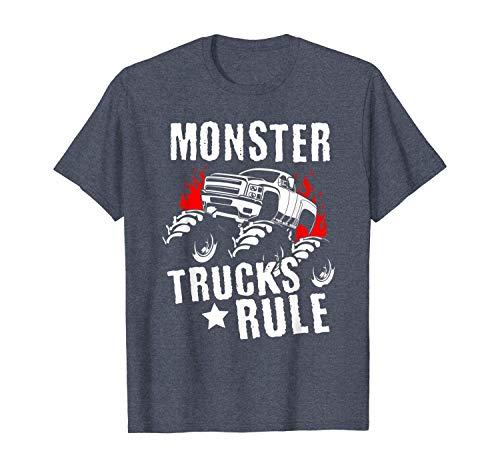 Funny T-Shirt Monster Trucks Big Trucks