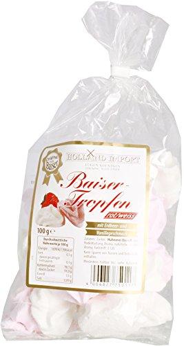 Holland Import Baiser-Tropfen Erdbeer-Vanillegeschmack