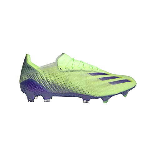 adidas X GHOSTED.1 FG, Zapatillas de ftbol Hombre, Signal Green Energy Ink F17 Semi Solar Slime, 48 2/3 EU