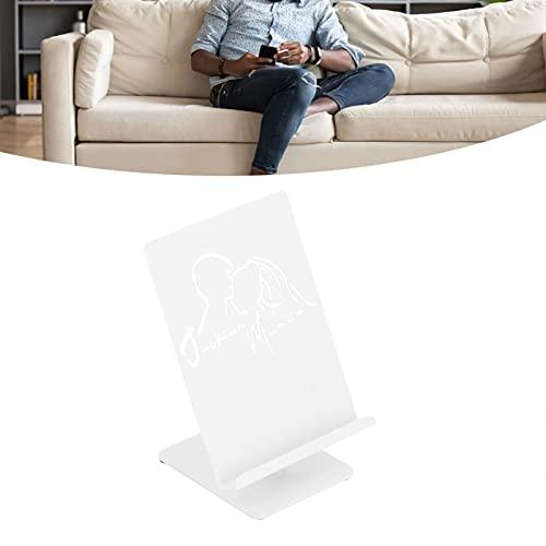FEYV Soporte para teléfono, Soporte para Tableta de Alta dureza para la mayoría de Las Personas para teléfonos móviles, tabletas(T119 Large White)
