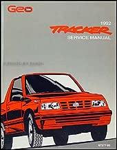 1992 Geo Tracker Repair Shop Manual Original
