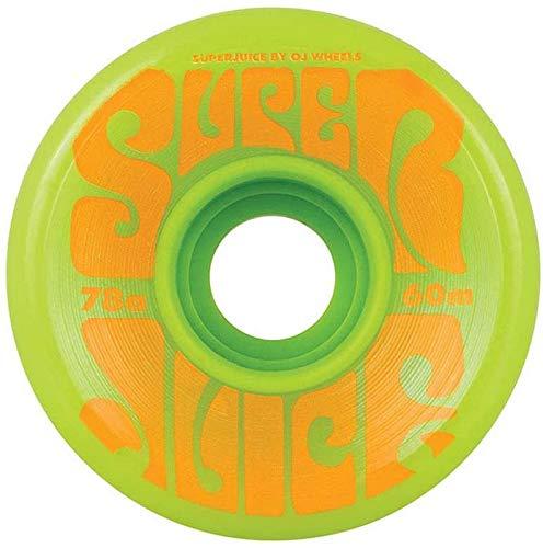 OJ III Skateboard Longboard Cruiser Wheels 60mm Super Juice 78A Green