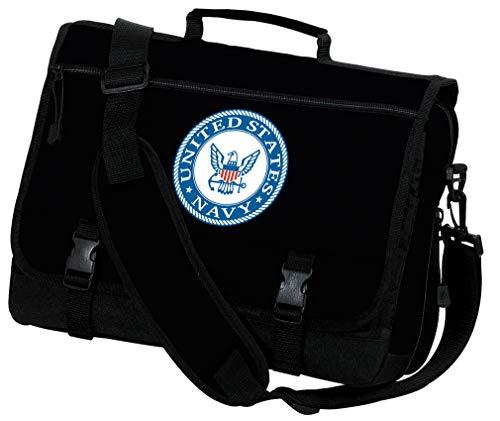 US NAVY Laptop Bag United States Navy Computer Bag or Messenger Bag
